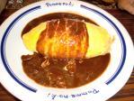 食べ物 2010年8月9日更新 ポムの樹『ハヤシソースオムライス ケチャップライス』