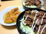 食べ物 2011年3月21日更新 照り焼き丼
