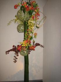 草月展「花遊ぶ」4