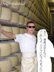 チーズ工場の人