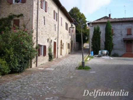 イタリアの田舎街