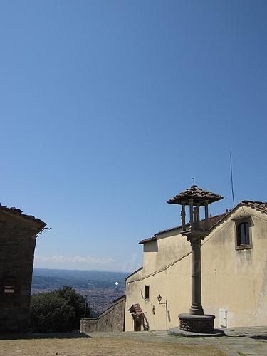 フィエーゾレからフィレンツェを望む