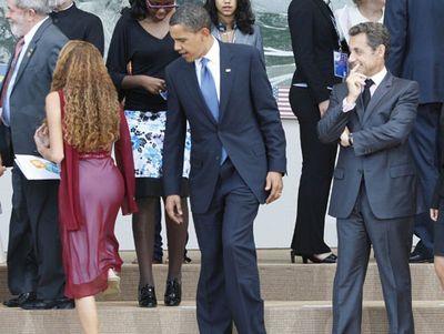 オバマとサルコジ