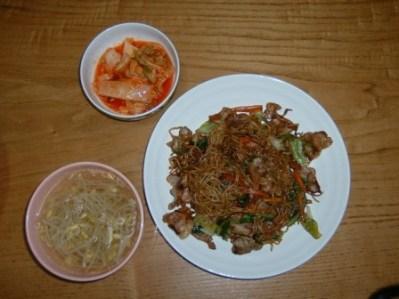 26日の夕食