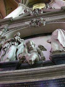 嘆きの天使 アミアン大聖堂