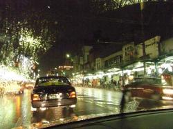 毎度おなじみ京都の雨
