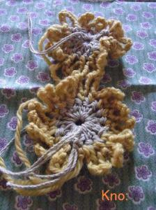 カギ編みのモチーフ