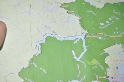ウアウアク地図