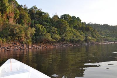 漁場グアリバ湖