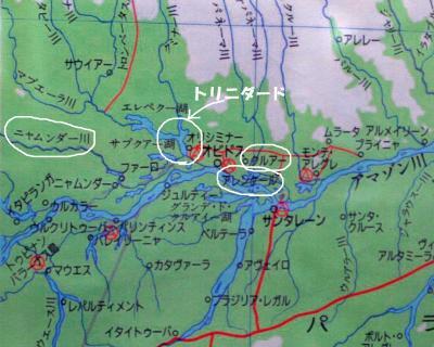 トリニダード地図