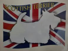旗 スコッチ-c