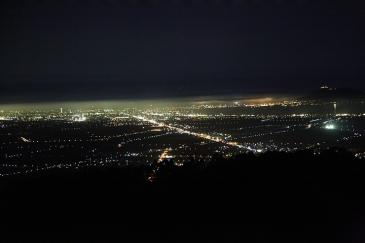 北海道2009 きじひき高原のキャンプ場から函館の裏夜景