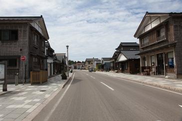 北海道2009 江差の古い街並み