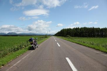 北海道2009 これぞ、北海道の道