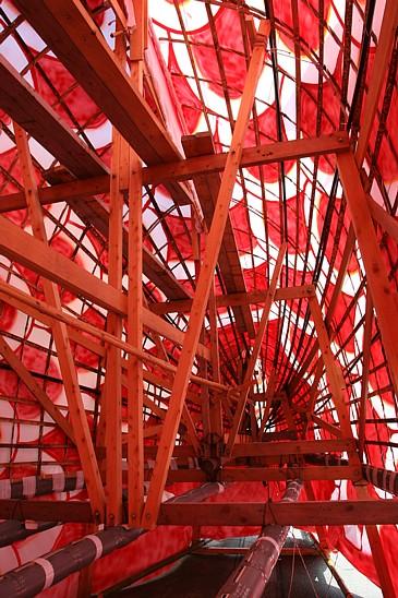 豊浜 鯛まつりの鯛 中の構造