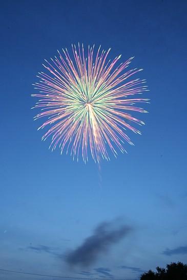 豊橋祇園 花火 2009年 その1 開始早々の花火