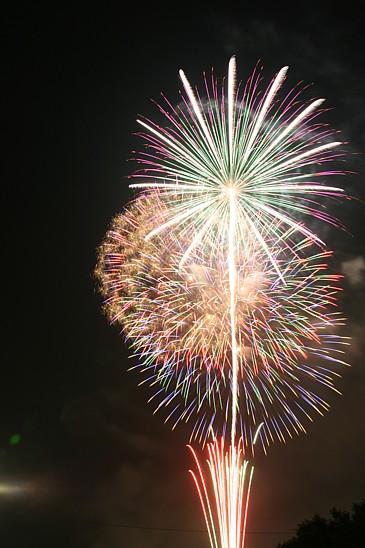 豊橋祇園 花火 2009年 その5 クライマックス付近