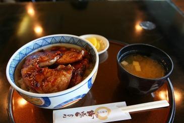 北海道2009 道の駅しらぬか恋問 豚丼