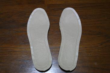 靴の中敷タイプ ホッカイロ