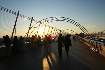 セントレア2008年12月 スカイデッキ