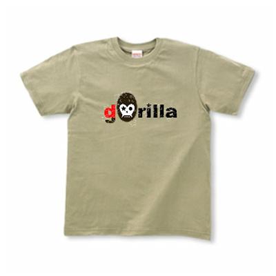 ゴリラ スカル Gorillra オリジナルデザイン Tシャツ