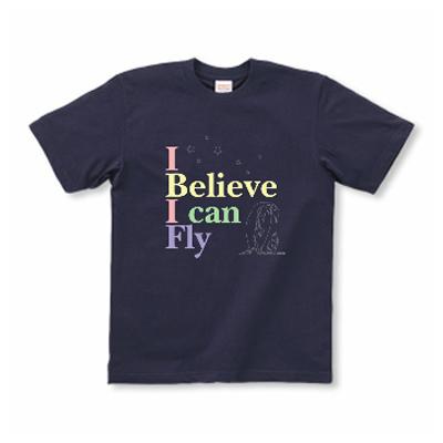 I Can Fly 自分を信じて ペンギン 親子 オリジナルデザイン Tシャツ