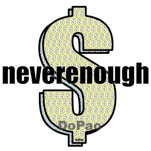 Neverenough ドルマーク オリジナルデザイン
