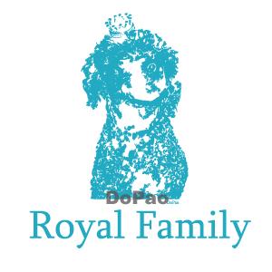 Royal Family ロイヤルファミリー プードル 王冠 オリジナルデザイン