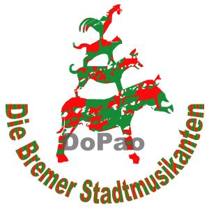 Town Musicians of Bremen X'mas ブレーメンの音楽隊 オリジナルデザイン