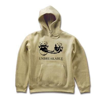 UNBREAKABLE 壊れない物 ライオン 獅子 南京錠 オリジナルデザイン Tシャツ