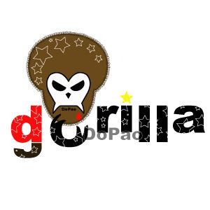 アフロ ゴリラ スカル Gorillra オリジナルデザイン