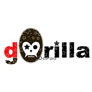 ゴリラ スカル Gorillra オリジナルデザイン