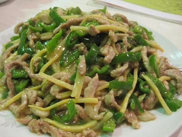 海龍門飯店/青椒肉絲飯