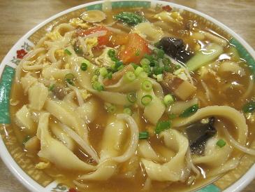 玉林酒家/刀削とろみ麺