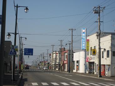 0611遠別市街