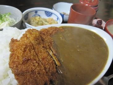 牛太郎/カツカレー定食