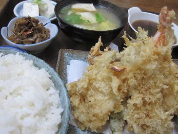 あじ萬/天ぷら定食