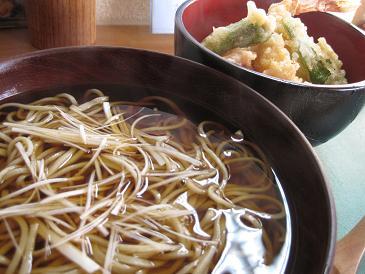 粋蕎/ミニ天丼セット