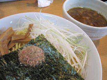 麺魂/油かすつけ麺