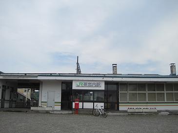 茶志内駅1