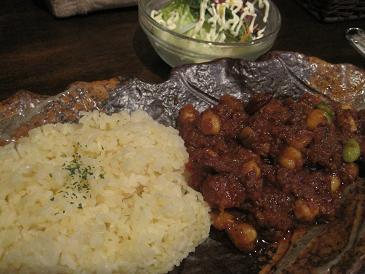 ハルディ/チキン豆カレー