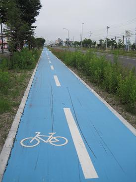 苫小牧自転車専用道路