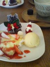 yukuriさんクリスマスプレート