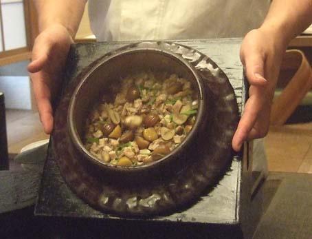20100910 菊の井 赤坂店  042 釜炊き 16cm