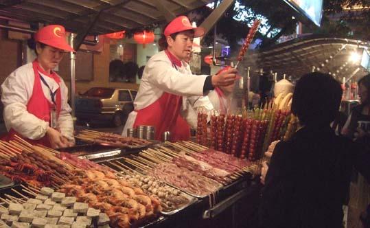 20100921 北京市内観光 154 屋台 19cm