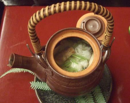 20101015 菊の井 016 松茸土瓶蒸し 16cm