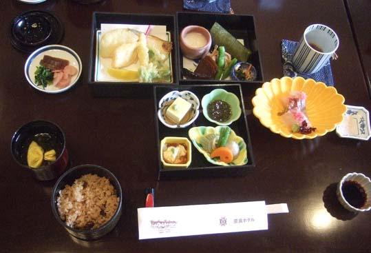 20101021 奈良ホテル 昼食 万葉弁当 005 19cm