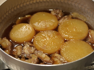 豚軟骨と大根の旨煮レシピ14