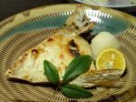 カンパチのカマ塩焼き作り方12
