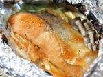 鮭とキノコのホイル焼き3